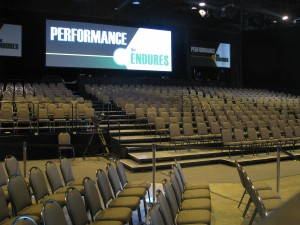 grandstand seating rental